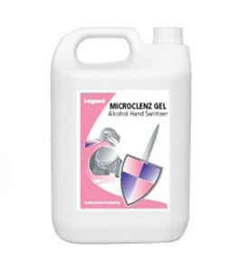 Microclenz Gel Alcohol Hand Sanitiser