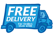 Free Delivery on orders over €100