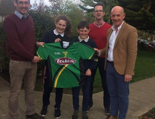 Ecokem are delighted to sponsor Scoil Nioclais Naofa!